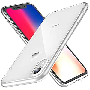 Joyguard Coque iPhone XR, Ultra Mince Premium TPU Souple Silicone Plating Coquille [Crystal