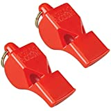 Fox 40 Whistle Official Classic Red Pack Of 2