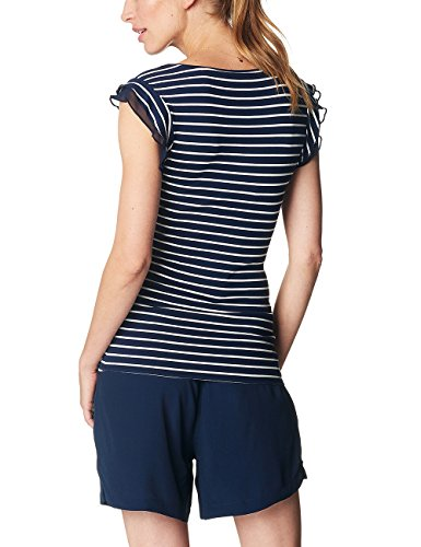 Esprit Maternity Ss Yd S84717, T-Shirt Femme Mehrfarbig (Night Blue 486)