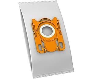10 Sacs aspirateur pour philips fC 9306 silent star/fC 8022/8023, 8136 fC 9080–9099 studio power silent fC 9300–9309 star fC 8130–8139 hR 6988 mcFilter easy life