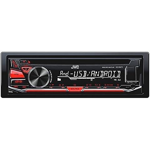 Jvc R471Radio CD/USB/AUX Ford Focus 22005–12/2006/C MAX (a partir de 2005negro