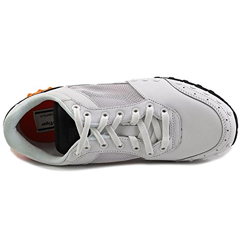 Onitsuka Tiger by Asics Colorado Eighty-Five Daim Baskets White-Orange