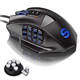 UtechSmart Venus 50 to 16400 DPI High Precision Laser MMO Gaming Mouse
