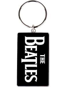 The Beatles Trademark Logo Metal Keychain 6 cm x 3,5 cm
