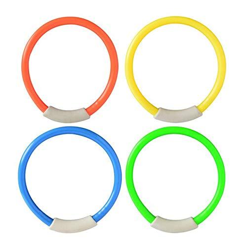 HoganeyVan Sports Toys 4Pcs / Set Dive Ring Accessori per Piscine Accessori per Il Nuoto per i Bambini