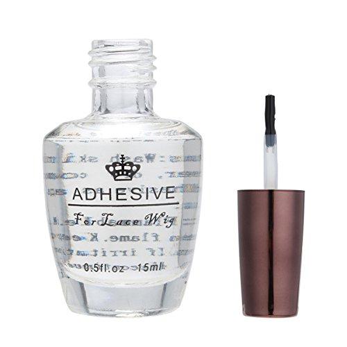 Bluelover 15Ml Lace Perücke Transparent Klebe Glas Haar Kleber Beauty Salon Extensions Toupets