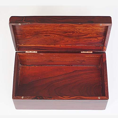 Redwood Box (WCL Redwood Carved Mandarin Duck Flip Box, Schmuckkästchen, Geschenkbox)