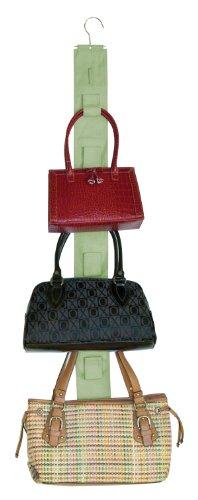 Master Craft Handbag Hangup Double-Sided Purse Organizer, Sage Vert