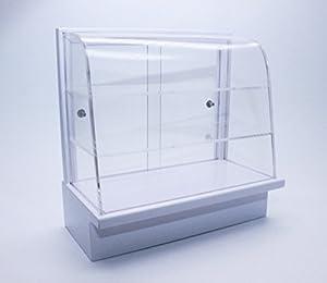 Présentoir en acrylique boulangerie gâteau Cabinet blanc artisanal maison miniature bricolage Artisanat