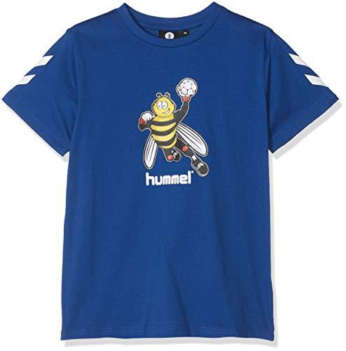 Hummel Jungen HMLKEVYNB S/S T-Shirt, Sodalite Blue, 116