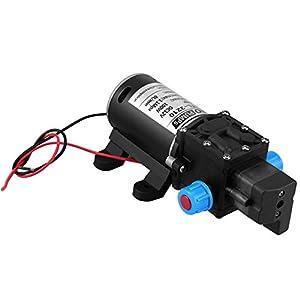 Zerone Bomba de Agua automático, 12V Bomba de Agua de Alta presión Semilla automática para Lavado de Coche Barco Caraval jardín riego