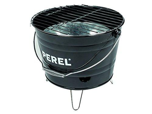 Perel Eimergrill, 29 x 27 x 22,5 cm, schwarz, BB100101