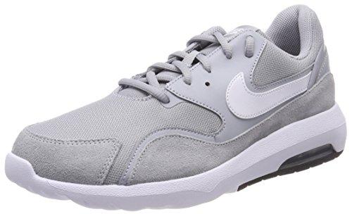 Nike Herren Air Max Nostalgic Gymnastikschuhe, Grau (Wolf Greywhiteblack 001), 46 EU (Pflaume-leder-schuhe)