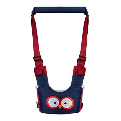 Happy Cherry - Andador Walker para Bebés Aprender Caminar Correa Ajustable Arnés de Seguridad de Andar Primeros Pasos - Azul