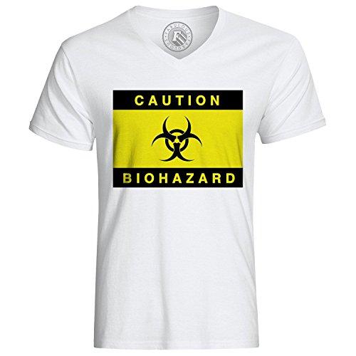 T-shirt Caution Biohazard Danger