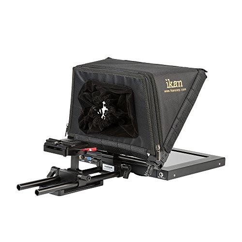 ikan PT1200 12-Inch Portable Teleprompter Kit - Black