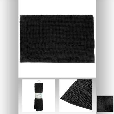 alfombra-chenille-corto-negro