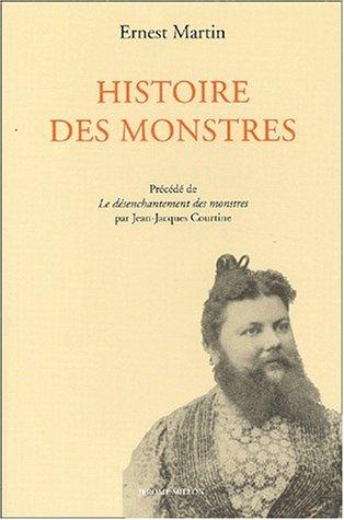 Histoire des monstres depuis l'Antiquité par Ernest Martin
