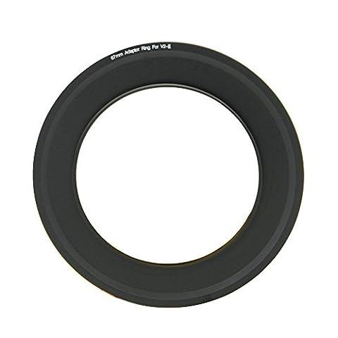 NISI Bague d'adaptateur pour Filtre pour 100mm NISI Filtre Support v2-ii, 67 mm