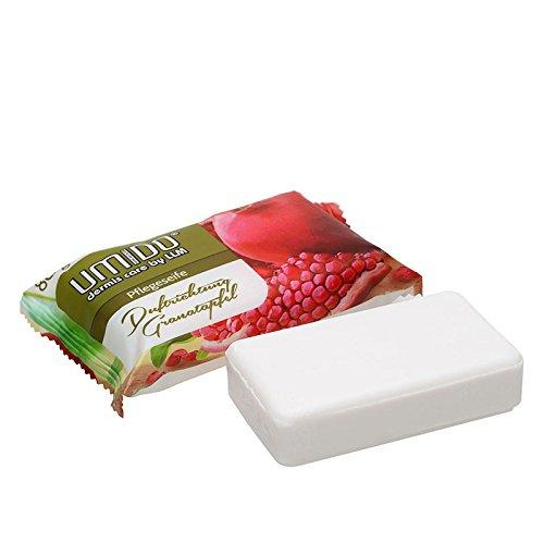 UMIDO Seife 80 g Granatapfel - Hand-Seife - Waschstück - Seifenstück für ihre Körperpflege - Festseife - 1 x 80 g (4.)