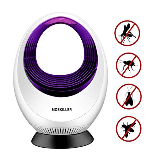 Insektenvernichter, UV Insektenvernichter Insektenfalle Mückenlampe USB Anschluss Mücken Inhalator Insektenfalle keine Strahlung ungiftig keine Chemie unbedenklich für Säuglinge Kinder schwangere (091 Violett)