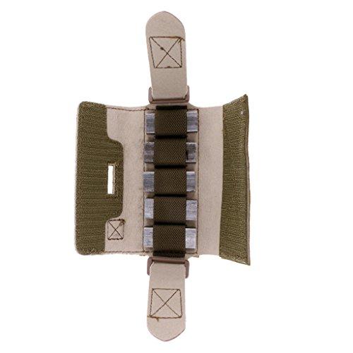 Sharplace Taktische Helm Balancing Gewicht Tasche Zubehörtasche - Khaki