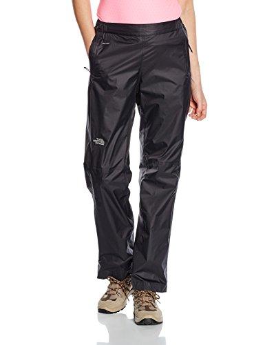 The North Face - Pantaloni da donna, modello Venture con zip a metà lunghezza, nero (Nero), Regular/Small