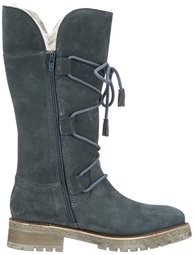 Tamaris Women 26630 Boots Green (benzina)