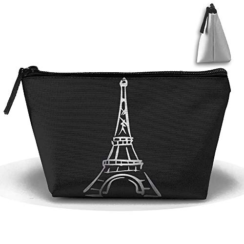 fb4ad40e8175 Eiffel Tower Platinum Style Portable Make-up Receive Bag Storage Capacity  Bags For Travel With Hanging Zipper