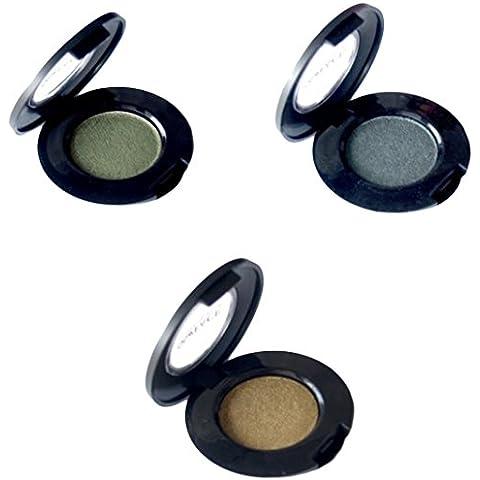 Dollface Mineral Haga regalo de Navidad para arriba - sombra de ojos musgo espumoso, embotellada, Efex verde, 1er Pack (1 x 1 pieza)
