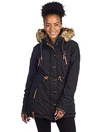 Naketano Streets is Watching Female Jacket Black XS: Amazon