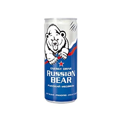 Russian Bear - Energie Drink
