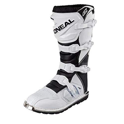 O'Neal Rider Boot MX Stiefel Weiß Moto Cross Enduro Motorrad, 0329-2, Größe 46