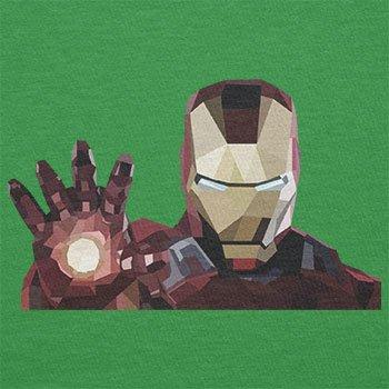 Texlab–Iron Polygon–sacchetto di stoffa Verde