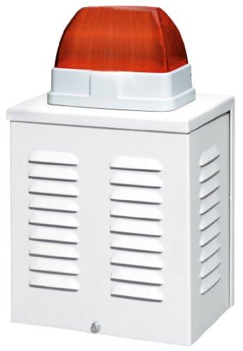 Alarm-sirene (Seccen Sirene und Blitz Attrappengehäuse)