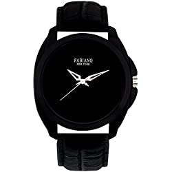 Fabiano New York Black Analog Men & Boys Wrist Watch