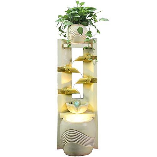 QXX Europäischen Stil brunnen Wohnzimmer Hause luftbefeuchter Aquarium Bonsai Dekoration öffnung Boden Dekoration Blume Stehen