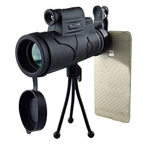 Teleskop 12X50 Hd High Outdoor Licht Low Light Level Nachtsicht Single Tube Handy Kamera Brille Schwarz 12X50