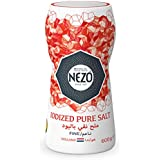 Nezo Iodized Pure Salt Fine, 600 g - Pack of 1