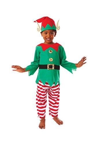 Weihnachtswichtel Kostüm, Größe:104 (3 - 5 (Elve Kostüme)