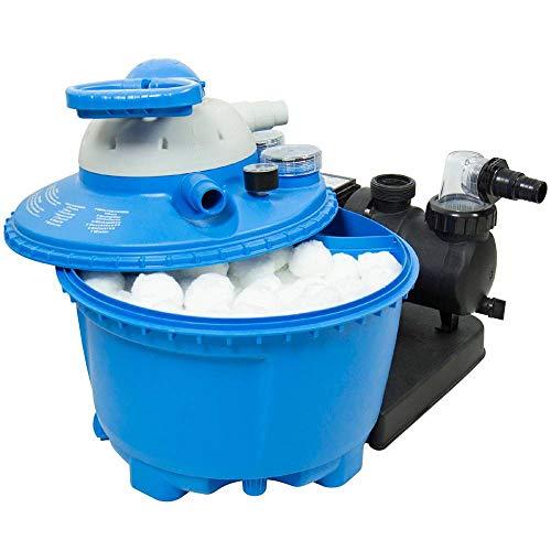 OOFAYWFD 700G White Pool Reinigung Filter Balls Wasseraufbereitung Wiederverwendbare Filter Material Desinfektion