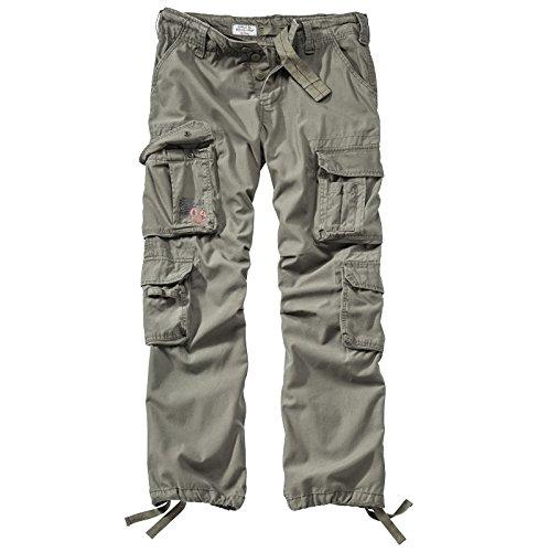 Surplus Airborne Vintage Trouser, Pantalone Uomo, Verde (Oliv), M