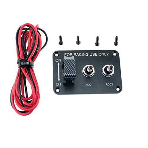 Tout Neuf Universel W2 voiture brouillard lumière faisceau électrique contrôleur Kit 12V//35W//55W