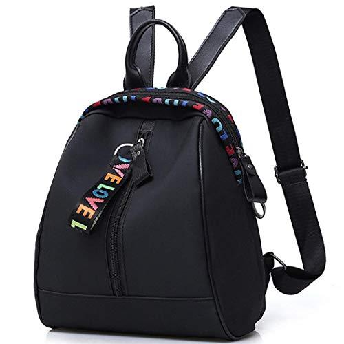 Sisaki Mädchen Schultertaschen Damen modische kleine Daypack Schultasche Mädchen Patchwork Quasten Reißverschluss Daypacks - Patchwork-quaste