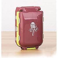 Shuxy Portabler Reiseveranstalter Rezept- und Medikamentenerinnerung Wöchentliche 7-Tage-Pillendose Taschenspender... preisvergleich bei billige-tabletten.eu