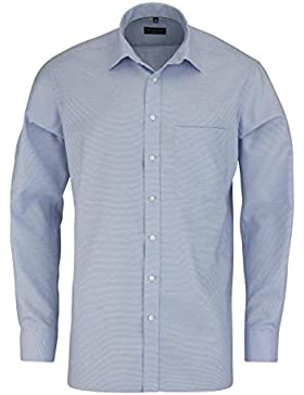ETERNA long sleeve Shirt COMFORT FIT Natté checked