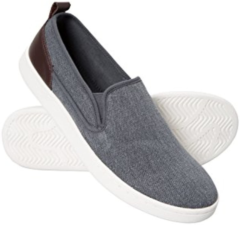 Mountain Warehouse Drift Canvas Mens Slip-On Shoes