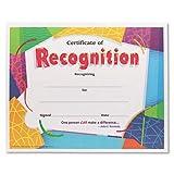 Certificado de tendencia de reconocimiento premios, 8–1/2x 11, 30/Unidades