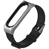 VNEIRW Bracelet de Rechange en Silicone pour Xiaomi Mi Band 3 Bracelet Intelligent