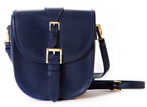 Jane Crossbody Tasche aus echtem Leder Kamera und Tech
